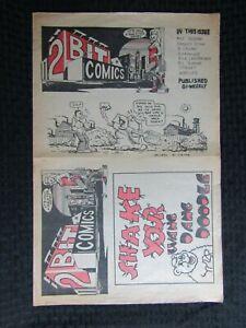 1970 2 BIT COMICS Newspaper #nn VG/FN 5.0 R Crumb RK Sloane 8pgs