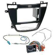 OPEL INSIGNIA 08-13 2-Din Car Radio Installation Set Adapter Cable FACEPLATE