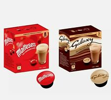 DOLCE GUSTO PODS - HOT CHOCOLATE - GALAXY /  MALTESERS COFFEE MACHINE PODS