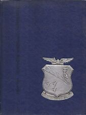 Military Yearbook Maxwell Air Force Base Usaf Squadron Officer School 74-D 1974