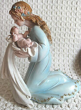 Vintage 1989 Lucchesi Mother & Child Figurine Made in Italy Faro by Roman 6.5""