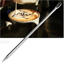 Coffee Latte Stainless Steel Art Pen Espresso Machine For Cafe Home Kitchen Tool