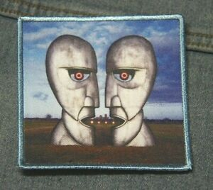 Pink Floyd Division Bell patch iron on denim  Official merchandise rock music