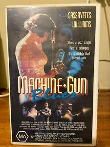 Machine Gun Blues VHS Ex-rental Video tape HT Jazz music mob crime film