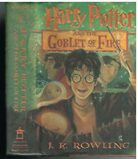 Harry Potter and The Goblet Of Fire 2000 First Printing w/jacket Book!