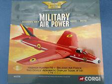 Corgi Aviation Archive - Hawker Hunter - Belgium 'Red Devils' - Ltd Ed - 1:72.