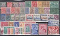 P130883/ BRITISH ST KITTS-NEVIS / LOT 1903 – 1951 MINT MH CV 296 $