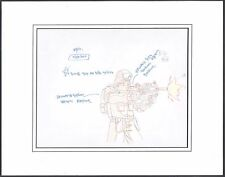 G.I. JOE Resolute Original Production cel drawing