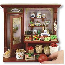 Reutter Porzellan Gemüseladen Grocer´s Shop Display Wandbild Puppenstube 1:12