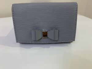 BNWT Ted Baker Purse, Bow Detailed, Color Grey...