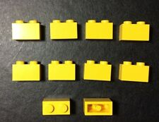 LEGO 3004 Jaune lot de 10 Brique Poutre 1x2 Brick Yellow