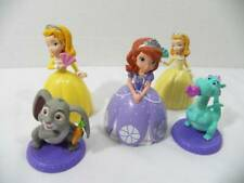 ~Sofia The First~ Royal Friends Figure Cake Toppers Set Crackle Dragon, Clover