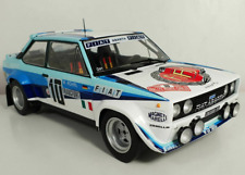 Coche Rally Fiat 131 Abarth #10 - Winner Rally MonteCarlo 1980 - W.ROHRL  (1/18)