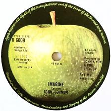 """JOHN LENNON - Imagine (7"""") (G+/EX)"""