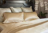 100% Pure 19MM Mulberry Silk Fitted Sheet
