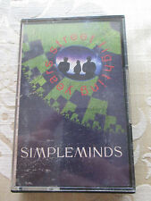SIMPLE MINDS - STREET FIGHTING YEARS ORIGINAL 1989 VIRGIN STEREO AUDIO CASSETTE