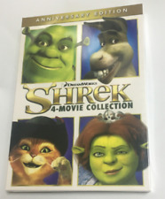 Shrek: 4-Movies Collection 1 2 3 4 Anniversary Edition Dvd Brand New / Sealed