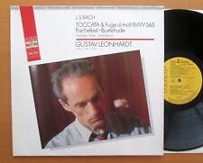 Bach Toccata & Fugue D Minor Pachelbel Buxtehude Gustav Leonhardt RCA GL71051 NM