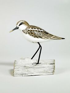 Archipelago Hand Carved Wooden Birds Little Stint Standing