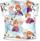 Disney la La Reine Des Neiges T-Shirt à manches courtes