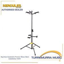 Hercules 3 Guitar Stand w/Backrest & Auto Grip GS432B - Triple Guitar Tree
