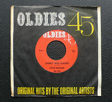 """7"""" Little Richard - Lawdy Miss Claudy/ Blueberry Hill - US Oldies 45"""