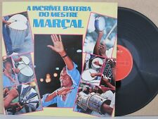 MARCEL- A Incrivel Bateria Do Mestre Marçal 1987 Latin Samba LP RARE Elizeu Luna