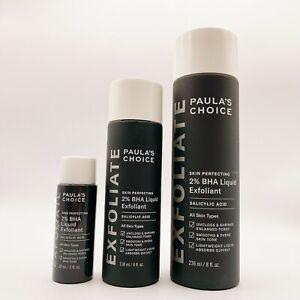 Paula's Choice Skin Perfecting 2% BHA Liquid Salicylic Acid Exfoliant Choose