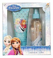 1X Disney Frozen Childs 2 Piece Bath & Beauty Gift Set Shower Gel Body Spray