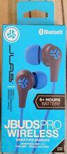 Jlab Jbuds Pro Bluetooth Signature Earbuds w/ Mic & Track Control - Blue / Gray