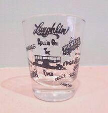 LAUGHLIN NEVADA  SHOT GLASSES  ALL THE LOCAL  CASINOS ARE REPRESENTED