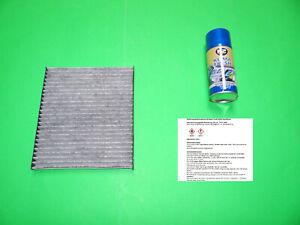 Aktivkohle Pollenfilter / Innenraumfilter + Klimareiniger Fiat Panda 2 (169)