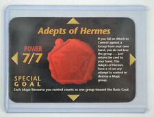 Illuminati New World Order INWO Unlimited Adepts of Hermes ILLUMINATI Card CCG