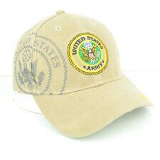 Stati Uniti Militare Scuro Sabbia Regolabile Poliestere Cappello Curvo a Becco