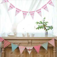 Baby Shower Banner Boy or Girl Birthday Party Garland Hanging Decoration DIY
