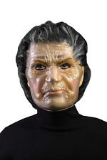 Nanny Transparent Mask Old Woman Lady Fancy Dress Halloween Costume Accessory