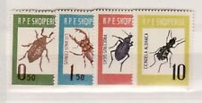 ALBANIA Sc 660-63 NH ISSUE OF 1963 - INSECTS