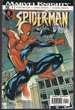 SPIDER-MAN #1 MARVEL KNIGHTS 06/04 NEW EDGY TITLE MARK MILLAR W/ DODSON ART NM-