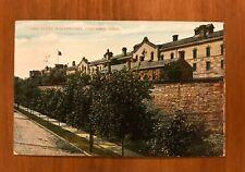 Vintage Postcard, Ohio State Penitentiary, Columbus Ohio, 1c Stamp, 1908