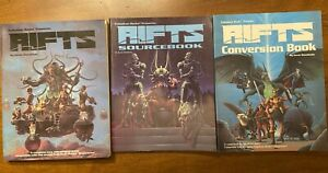 Palladium Books Rifts Sourcebook Conversion Core Rule RPG Good Kevin Siembieda