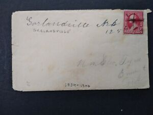Arkansas: Garlandville 1891 Cover, Ms, Miller Co