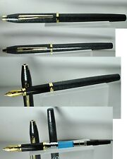 Cross Century II stilografica fountain pen marble green vintage brand new