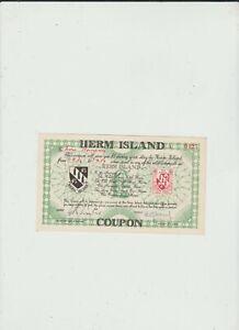 HERM  ISLAND  1  POUND  UNC