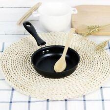 Mini Cooking Pan Non-Stick Iron Frying Pan Portable Long Handle Fried Egg Making