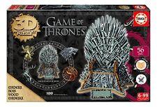 Educa Game of Thrones 3d Monument Puzzle Iron Throne