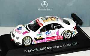 1:43 Mercedes W203 DTM 2007 TV Feature Film No 14 Susi Stoddart