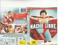 Nacho Libre-2006-Jack Black-Movie-DVD
