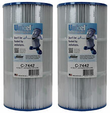2) NEW Unicel C-7442 Spa Replacement Cartridge Filters Sq Ft Hayward Easy Clear