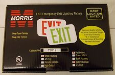 Morris 73012 LED EMERGENCY EXIT LIGHT