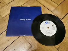 "george michael kissing a fool 7"" vinyl record v good condition"
